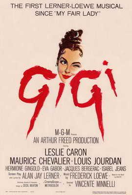 Gigi - 27 x 40 Movie Poster - Style A