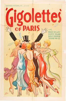 Gigolettes of Paris - 27 x 40 Movie Poster - Style B