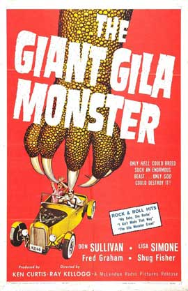 Gila Monster - 11 x 17 Movie Poster - Style A