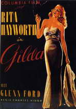 Gilda - 11 x 17 Movie Poster - Style E