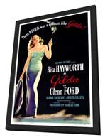 Gilda - 27 x 40 Movie Poster - Style A - in Deluxe Wood Frame