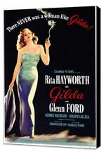 Gilda - 11 x 17 Movie Poster - Style A - Museum Wrapped Canvas