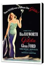 Gilda - 27 x 40 Movie Poster - Style A - Museum Wrapped Canvas