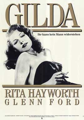 Gilda - 11 x 17 Movie Poster - German Style A