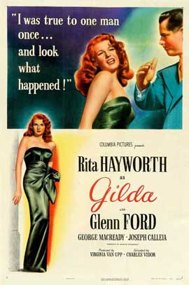 Gilda - 11 x 17 Movie Poster - Style F