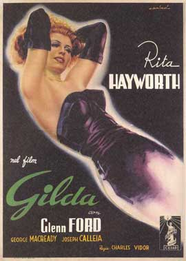 Gilda - 11 x 17 Movie Poster - Italian Style A