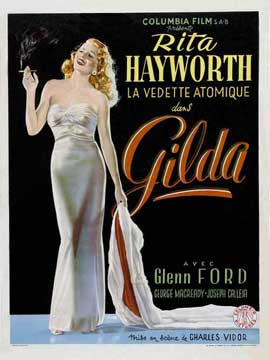 Gilda - 11 x 17 Movie Poster - Belgian Style B