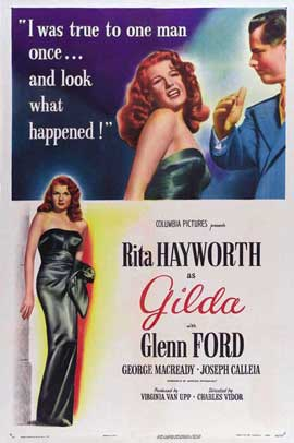 Gilda - 27 x 40 Movie Poster - Style G