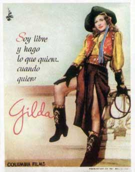 Gilda - 11 x 17 Movie Poster - Spanish Style B