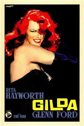 Gilda - 27 x 40 Movie Poster - Italian Style B