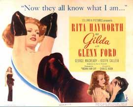 Gilda - 22 x 28 Movie Poster - Half Sheet Style B