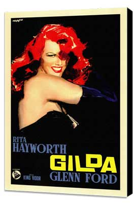Gilda - 11 x 17 Poster - Foreign - Style A - Museum Wrapped Canvas