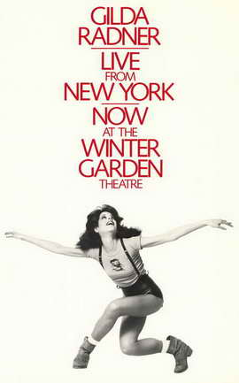 Gilda Radner - Live From New York (Broadway) - 11 x 17 Poster - Style A