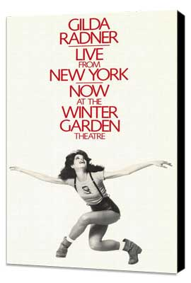 Gilda Radner - Live From New York (Broadway) - 11 x 17 Poster - Style A - Museum Wrapped Canvas
