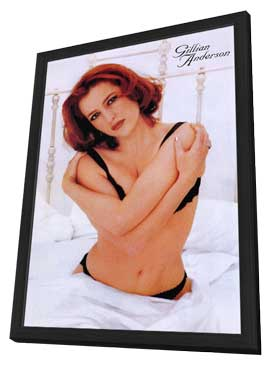 Gillian Anderson - 11 x 17 Movie Poster - Style A - in Deluxe Wood Frame