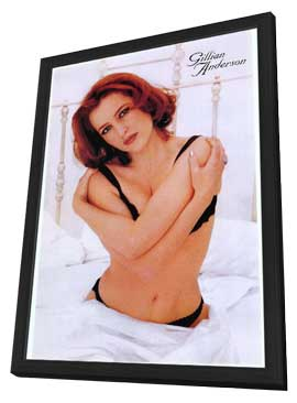 Gillian Anderson - 27 x 40 Movie Poster - Style A - in Deluxe Wood Frame