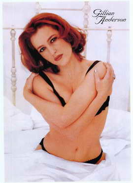 Gillian Anderson - 27 x 40 Movie Poster - Style A