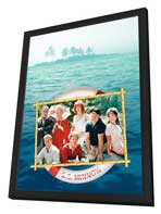 Gilligan's Island - 27 x 40 Movie Poster - Style A - in Deluxe Wood Frame