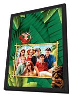 Gilligan's Island - 27 x 40 Movie Poster - Style E - in Deluxe Wood Frame