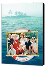 Gilligan's Island - 27 x 40 Movie Poster - Style A - Museum Wrapped Canvas