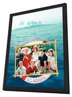 Gilligan's Island - 11 x 17 Movie Poster - Style A - in Deluxe Wood Frame