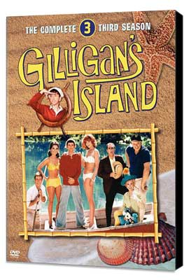 Gilligan's Island - 27 x 40 Movie Poster - Style C - Museum Wrapped Canvas