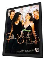 Gilmore Girls - 11 x 17 TV Poster - Style G - in Deluxe Wood Frame