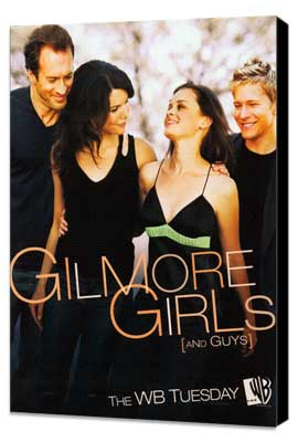 Gilmore Girls - 11 x 17 TV Poster - Style G - Museum Wrapped Canvas