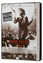 Gimme Shelter - Rolling Stones - 11 x 17 Movie Poster - French Style A - Museum Wrapped Canvas