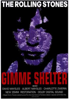 Gimme Shelter - Rolling Stones - 11 x 17 Movie Poster - Style A