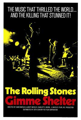 Gimme Shelter - Rolling Stones - 27 x 40 Movie Poster - Style A