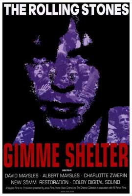Gimme Shelter - Rolling Stones - 27 x 40 Movie Poster