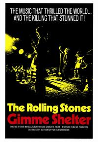 Gimme Shelter - Rolling Stones - 43 x 62 Movie Poster - Bus Shelter Style A