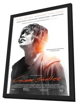 Gimme Shelter - 27 x 40 Movie Poster - Style A - in Deluxe Wood Frame