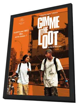 Gimme the Loot - 11 x 17 Movie Poster - Style A - in Deluxe Wood Frame