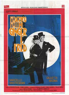 Ginger and Fred - 11 x 17 Movie Poster - Italian Style A