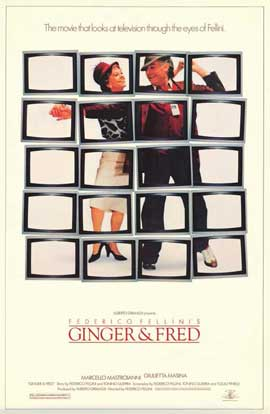Ginger and Fred - 11 x 17 Movie Poster - Style B
