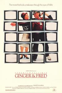 Ginger and Fred - 27 x 40 Movie Poster - Style B