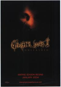Ginger Snaps II: Unleashed - 43 x 62 Movie Poster - Bus Shelter Style A