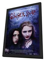Ginger Snaps - 27 x 40 Movie Poster - Style A - in Deluxe Wood Frame