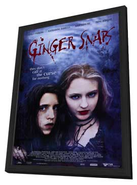 Ginger Snaps - 11 x 17 Movie Poster - Style A - in Deluxe Wood Frame