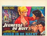 Giovent� di notte - 11 x 17 Movie Poster - Belgian Style A