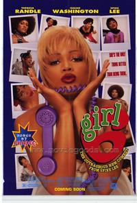Girl 6 - 11 x 17 Movie Poster - Style B