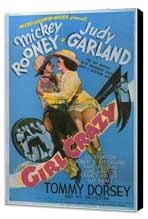 Girl Crazy - 11 x 17 Movie Poster - Style A - Museum Wrapped Canvas