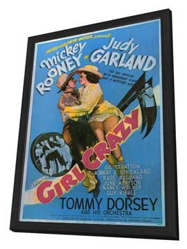 Girl Crazy - 11 x 17 Movie Poster - Style A - in Deluxe Wood Frame