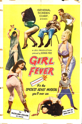 Girl Fever - 11 x 17 Movie Poster - Style A