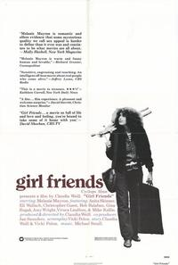 Girlfriends - 27 x 40 Movie Poster - Style A