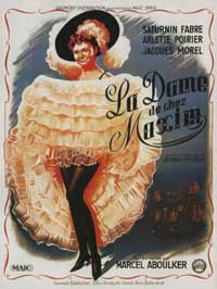 Girl from Maxim's - 11 x 17 Movie Poster - French Style A