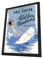 Girl From Nantucket, The (Broadway) - 11 x 17 Poster - Style A - in Deluxe Wood Frame
