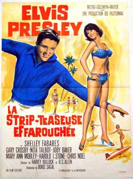 Girl Happy - 11 x 17 Movie Poster - French Style A